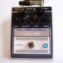 Techniguitare Custom Metal