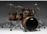 Audix on DW Collector's Drumset