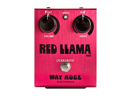 Way Huge Electronics WHE203 Red Llama Overdrive