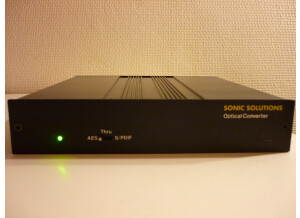 Sonic Solutions Optical Converter