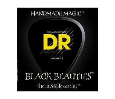 Dr Strings Black Beauties Bass