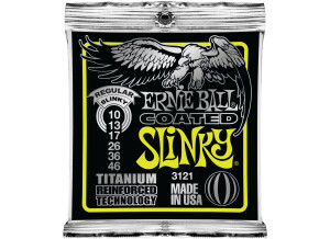 Ernie Ball Coated Titanium RPS Electric Slinky