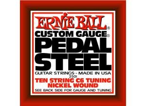 Ernie Ball Pedal Steel Nickel Wound 10-String C6 Tuning