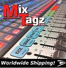 Mixtagz Identifiants de voies aimantés pour consoles audio.