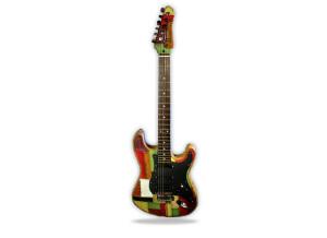Leather Guitars Tramp
