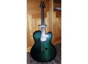 Emerald Guitars X30 7 strings fanned
