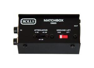 Rolls DB25 Matchbox