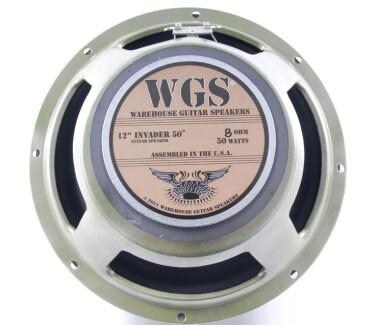 Warehouse Guitar Speakers Invader