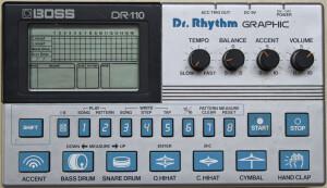 Boss DR-110 Dr. Rhythm Graphic