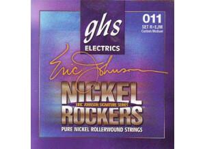 GHS Nickel Rockers Eric Johnson Signature