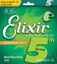 Elixir Strings Nanoweb Coating Bass Nickel Plated Custom
