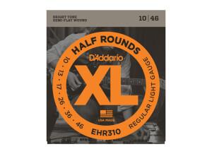 D'Addario XL Half Rounds Electric Strings