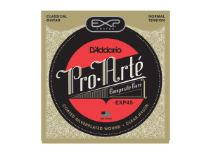 D'Addario EXP Coated Silver-Plated Wound Classical