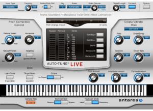 Antares Audio Technology Auto-Tune Live
