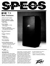 Peavey 810 TX