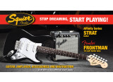 Squier Stop Dreaming, Start Playing Set: Affinity Series Strat with Fender Frontman 10G