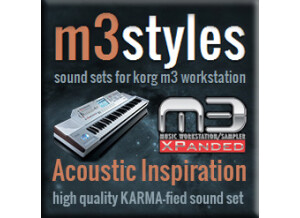 m3styles Acoustic Inspiration Karma-fied Sound Set for Korg M3