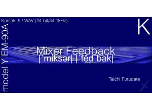 9 Soundware Mixer Feedback model Y EM-90A K