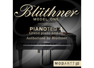 Modartt Blüthner Model 1 add-on for Pianoteq