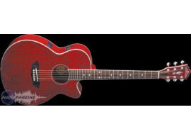 Washburn EA18 - Transparent Red
