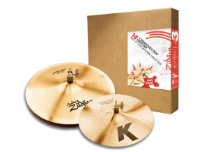 Zildjian 3 Hat Pack 14""