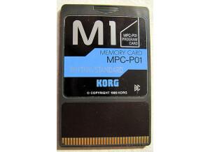 Korg MPC-P01 RHYTHM/STANDARD