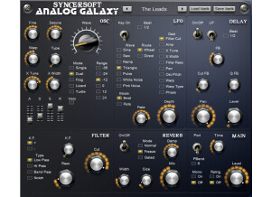 SyncerSoft Analog Galaxy