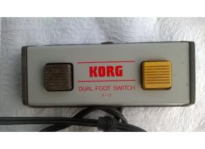 Korg S-2 Dual Foot switch