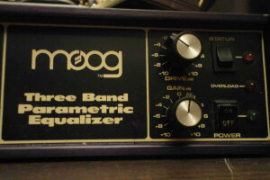 Moog Music 3 Band Parametric Equalizer