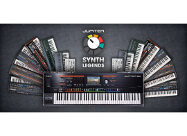 Roland lance la collection Jupiter Synth Legends