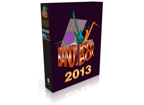 PG Music Band In A Box 2013