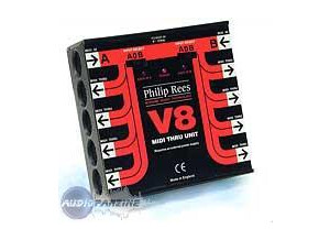 Philip Rees V8 MIDI Thru Unit