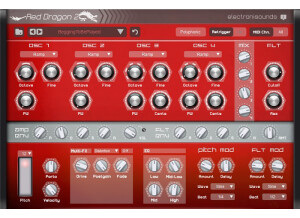 ElectroniSounds Red Dragon 2