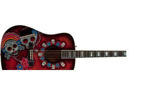 "Fender Joe Wood ""Dia de los Muertos"" Dreadnought"
