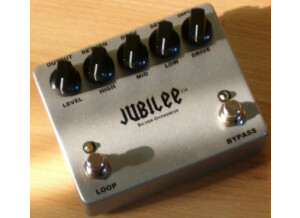 Pharaoh Amplifiers Jubilée Silver Overdrive