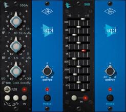 Universal Audio API 500 Series EQ Plug-In Collection