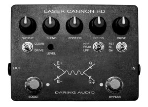 Daring Audio Laser Cannon HD - Black