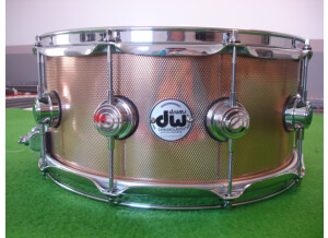 DW Drums collector BRONZE 14 x 6,5 KNURLED FINISH