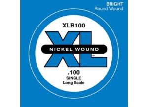 D'Addario Single XL Nickel Bass
