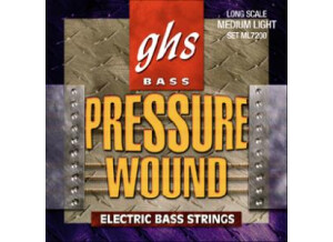 GHS Pressure Wound Electric Bass String