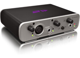 2 new Avid Fast Track audio interfaces
