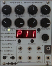 JoMoX Mod.Brane 11 Percussion