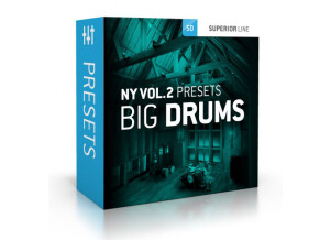 Toontrack Toontrack NY Vol 2 Presets - Big Drums