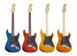 4 new Satin finishes for the Fender Standard