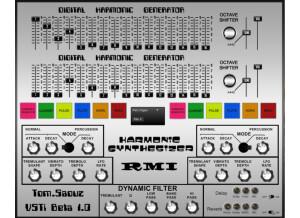 Tom Saouz Instruments RMI Harmonic