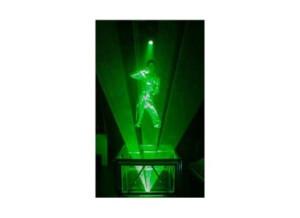 DNA Laser Podium