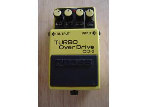 Boss OD-2 Turbo Overdrive Japan