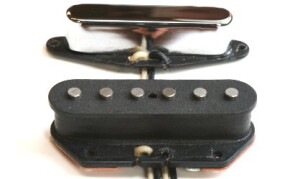 Bare Knuckle Pickups Piledriver Tele Single Coil Set