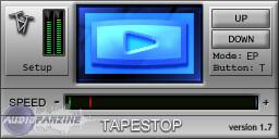 TbT Audio TapeStop [Freeware]