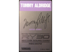 Yamaha RSC3072 - Tommy Aldridge
